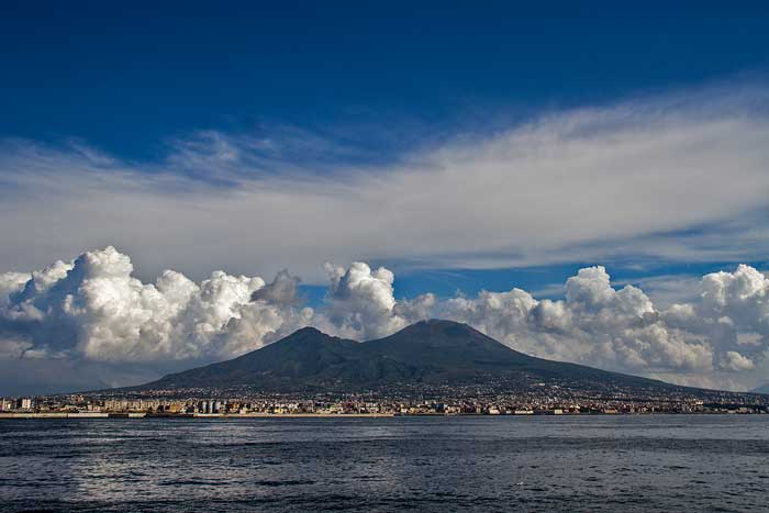 Mount Vesuvius, The Volcano of Naples