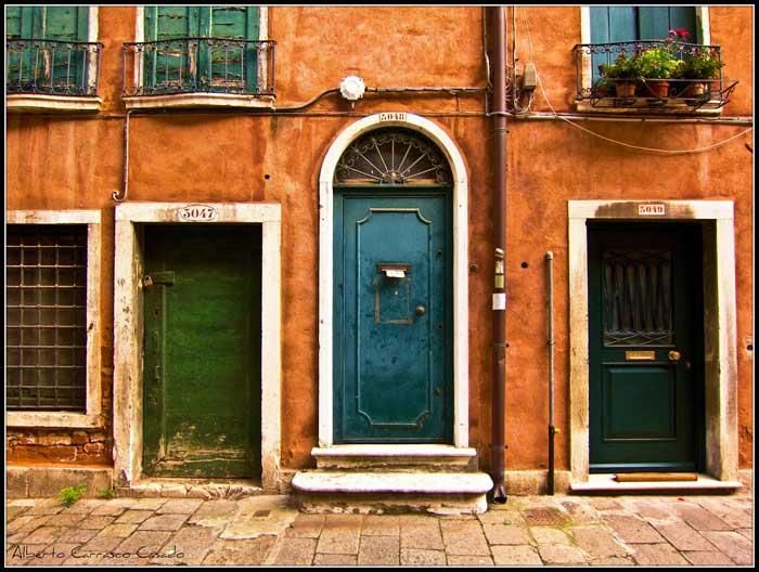 Venice Doors, Italy