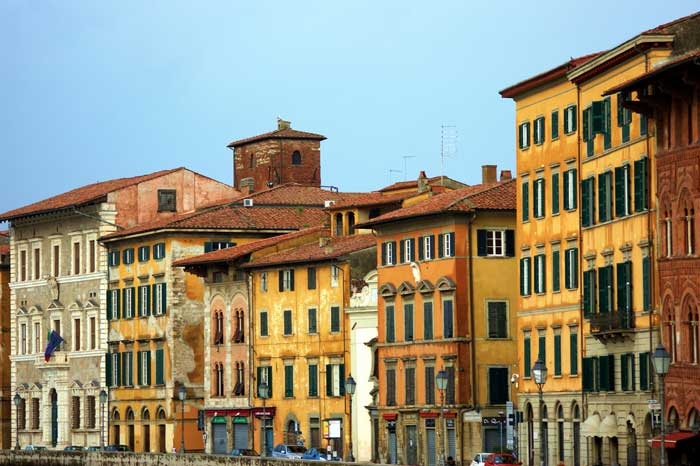 Lungarno Pacinotti Neighborhood, Pisa