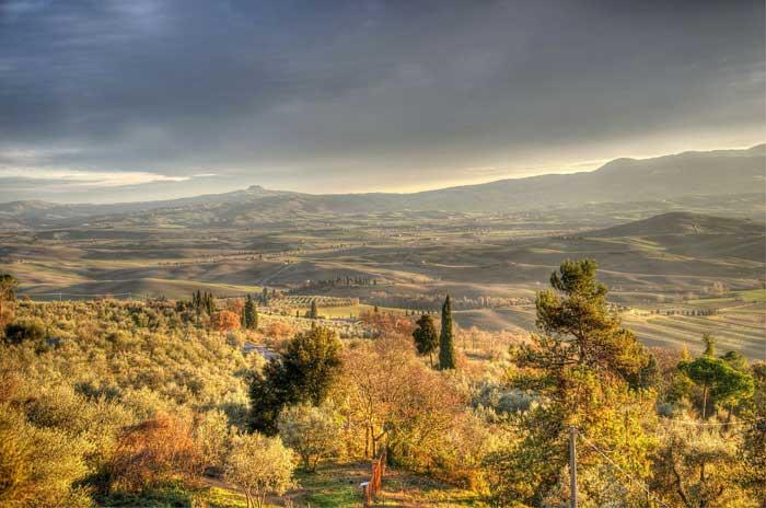 Pienza, Val d'Orcia, Tuscany