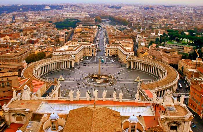 St Peter's Square, Vatican City, Eternal Rome