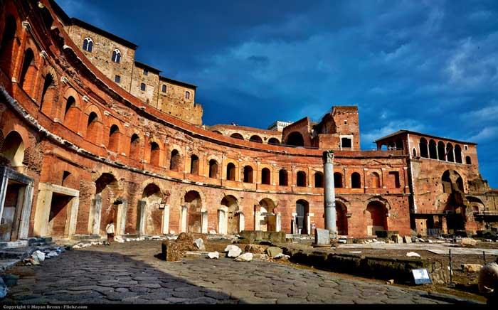 Trajan's Market, Ancient Rome