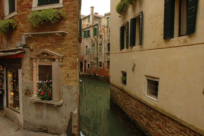 Narrow Channel, Venice