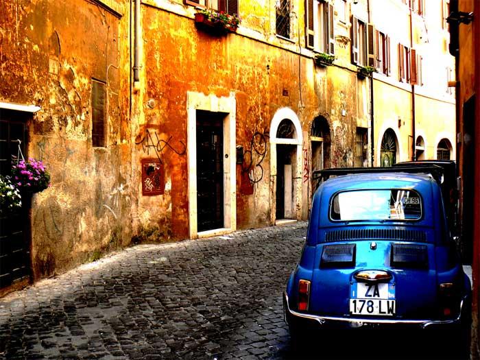Trastevere by Night, Rome