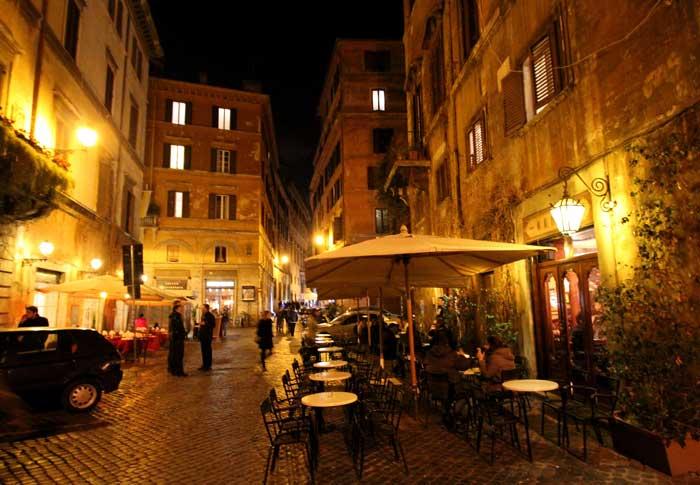 Quiet Roman Street in Campo Marzio