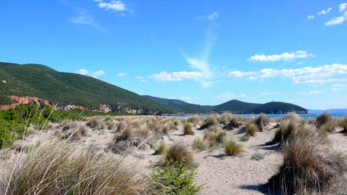 Unspoiled Uccellina Dunes, Natural Park of Maremma