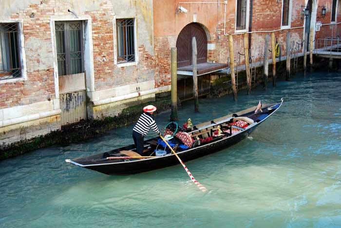 Venice Gondola on Secondary Channel