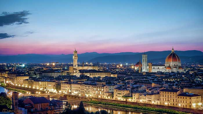 Florence Sunset from Piazzale Michelangelo