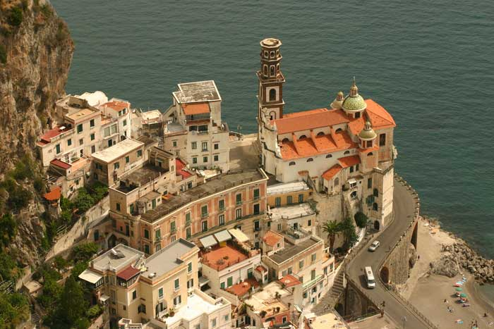 Intact Atrani in the Amalfi Coast