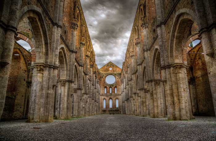 Abbey of San Galgano, Siena