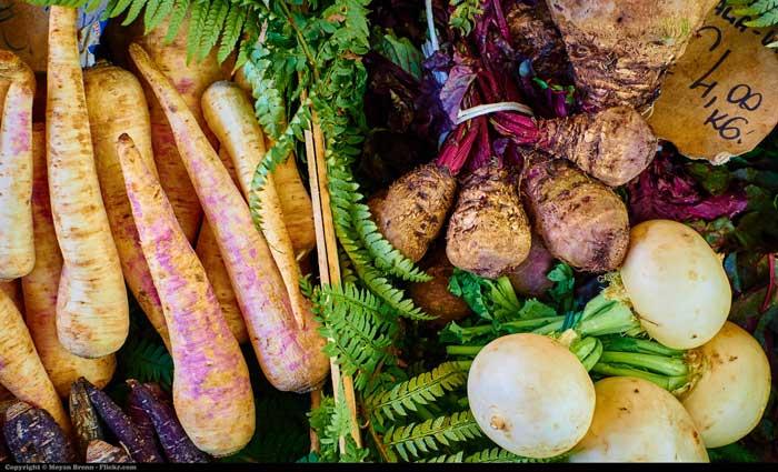 Fresh Vegetables, Campo de Fiori, Rome