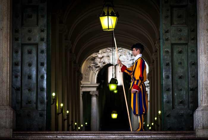 Dignified Vatican City Swiss Guard