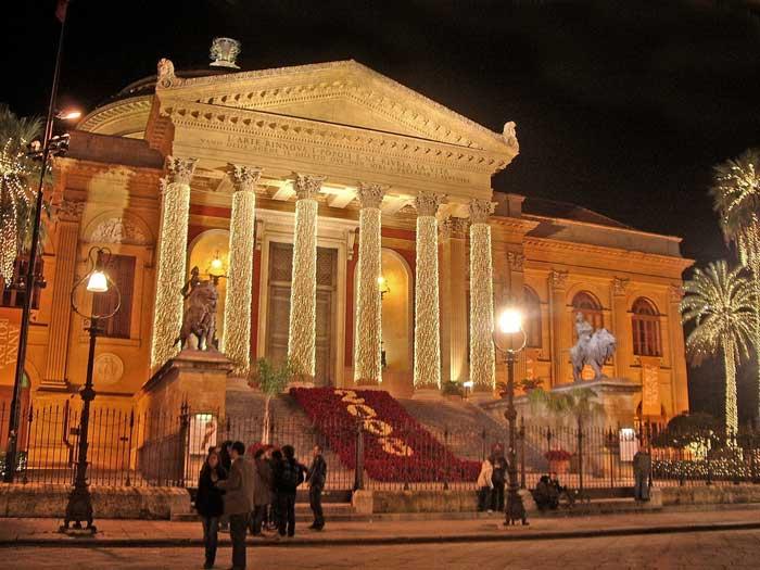 Opera House: Teatro Massimo Vittorio Emanuele, Palermo