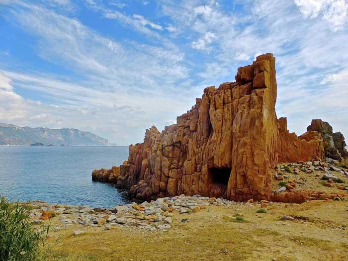 Arbatax's Rocce Rosse Sardinia, Italy