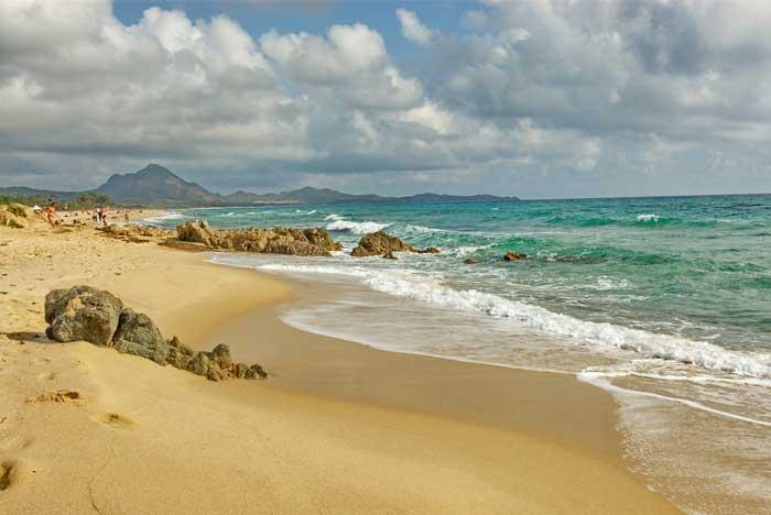 Magical Costa Rei, Southeast Sardegna, Italia