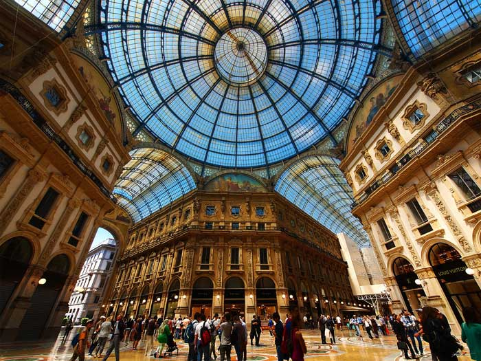 Galleria Vittorio Emanuele II: World's Oldest Shopping Mall