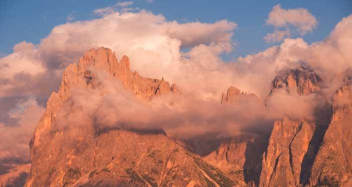 Seiser Alm or Alpe di Siusi, Dolomites, South Tyrol, Italy
