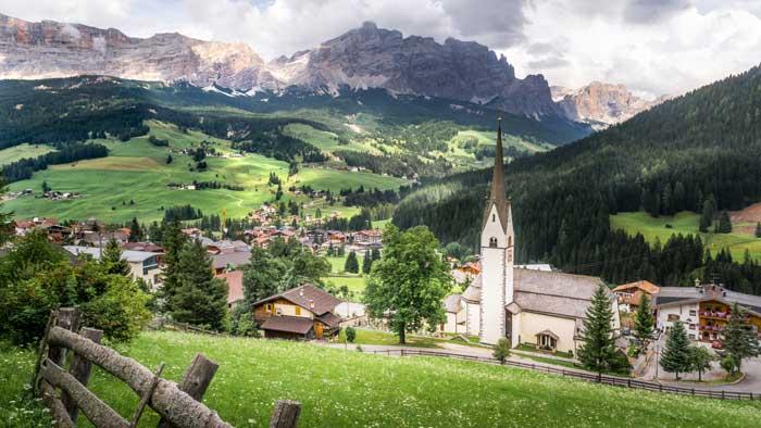 La Villa / La Ila, Alta Badia,South Tyrol, Italy