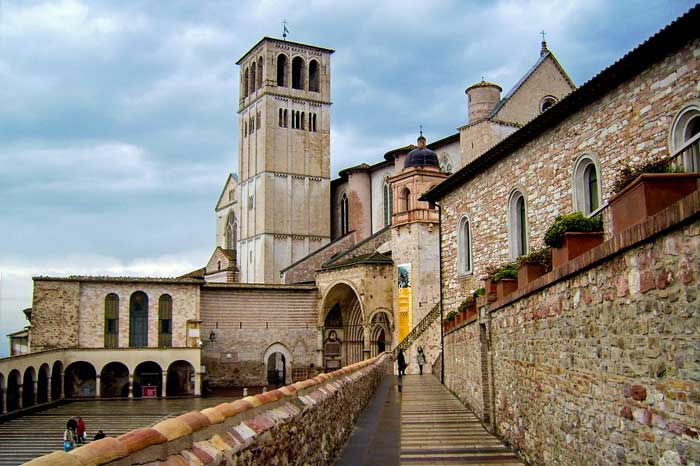 Basilica of St Francis, Assisi, Umbria