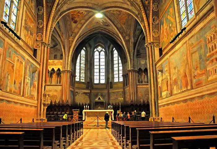 Upper Church,, Basilica of Saint Francis of Assisi