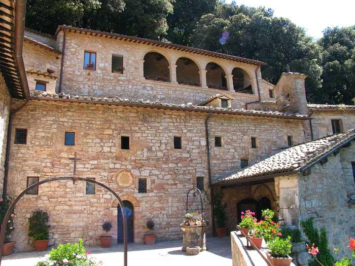 Eremo delle Carceri Hermitage, Monte Subasio, Assisi