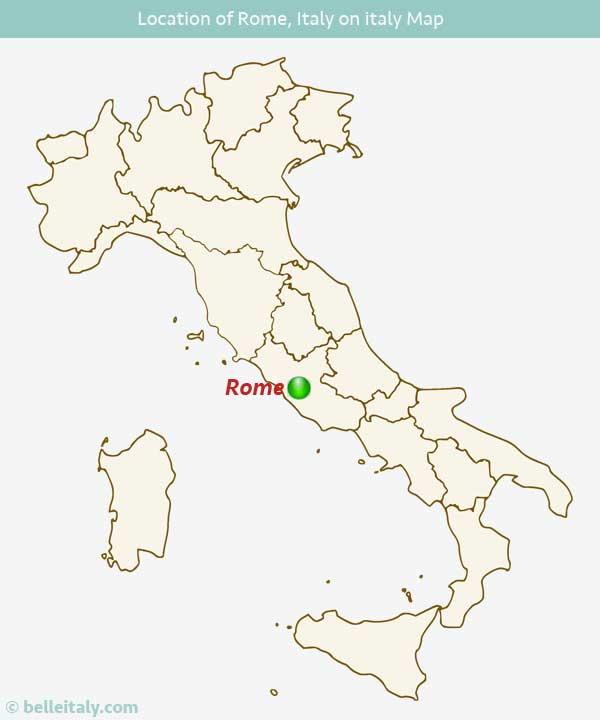 Where Is Rome, Italy