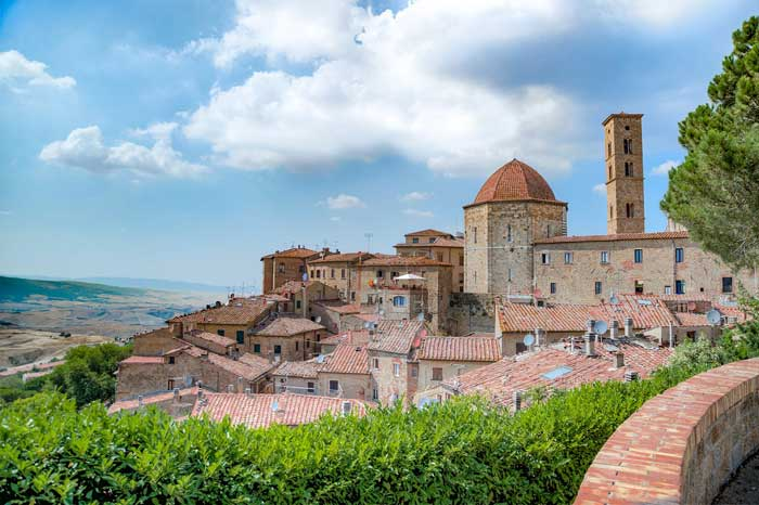 View of Volterra, Tuscany, Italy
