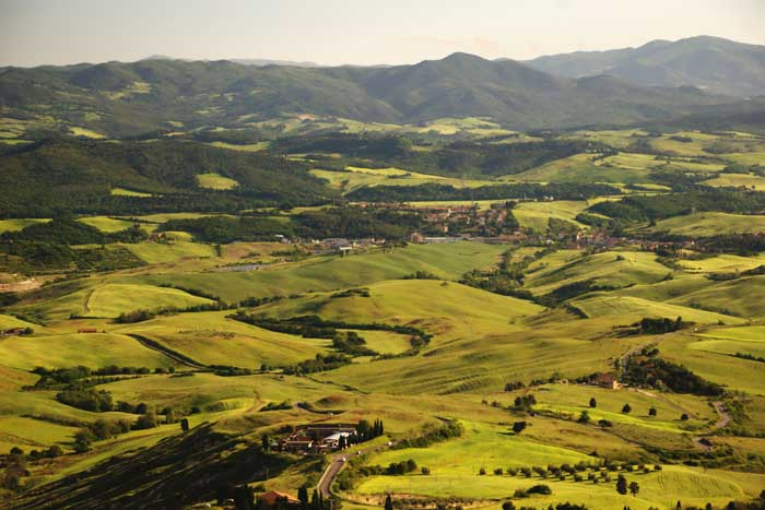 Hills of Volterra, Province of Pisa, Italy