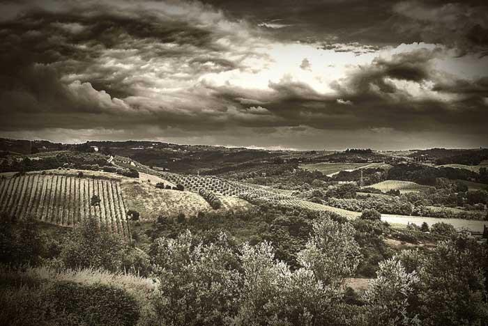 Mystical Volterra Landscape