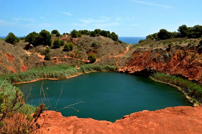 Bauxite Pond - Lago d'Orte, Otranto, Apulia