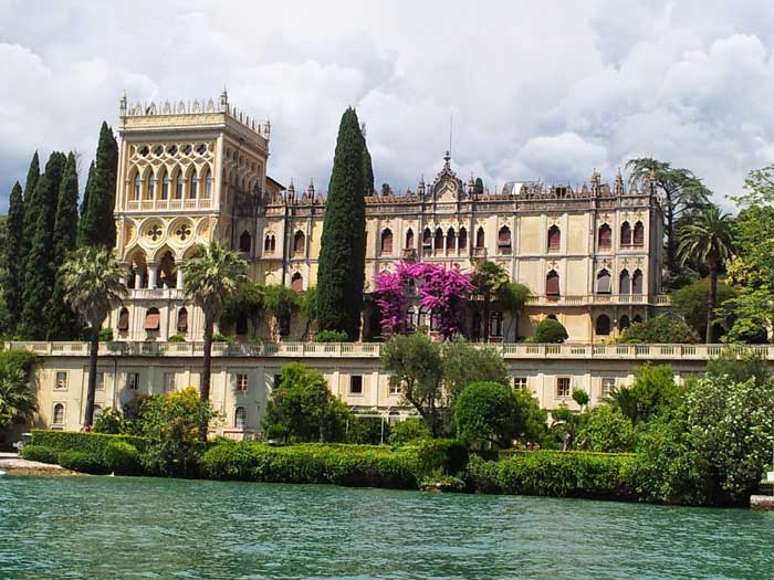 Villa Borghese Cavazza, Isola di Garda, Italy
