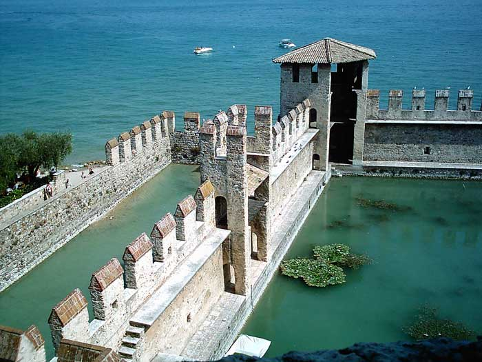 Scaligero Castle, Sirmione, Lago di Garda, Italia